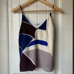 Aritzia Wilfred Abstract Lined Camisole